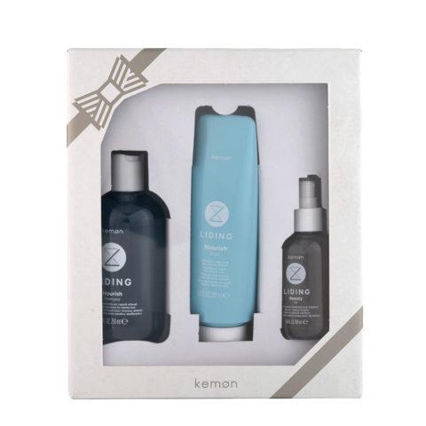 Kemon Liding Nourish Box Programma idratante capelli sfibrati