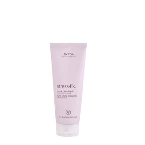 Aveda Bodycare Stress-Fix Creme Cleansing Oil 200ml - olio in crema detergente