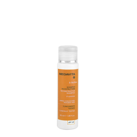Medavita Lunghezze Beta-Refibre Shampoo ricostruttore pH 5.8 55ml