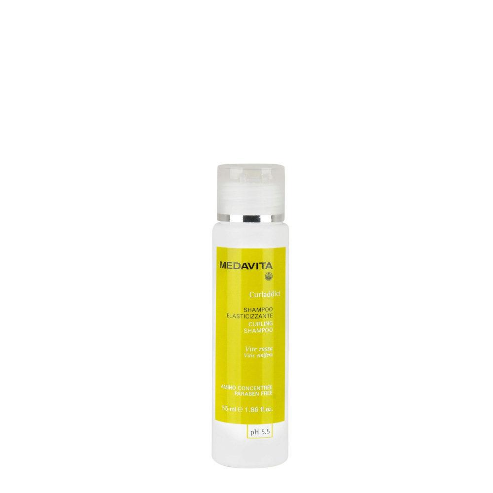 Medavita Lunghezze Curladdict Shampoo elasticizzante pH 5.5  55ml
