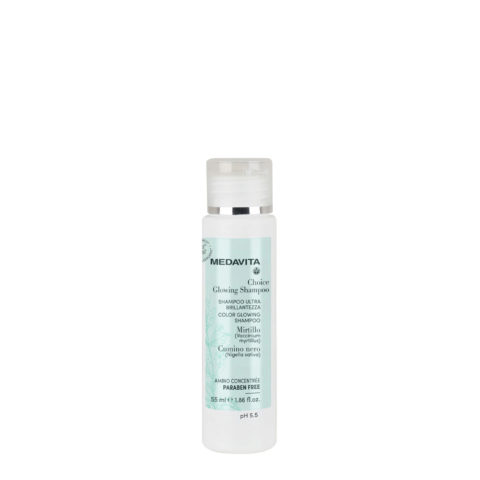 Medavita Choice Glowing Shampoo 55ml - ultra brillantezza