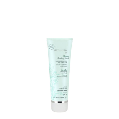 Medavita Choice Glowing Mask 50ml - maschera ultra brillantezza