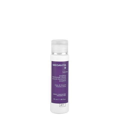 Medavita Lunghezze Luxviva Shampoo protezione colore pH 5  55ml