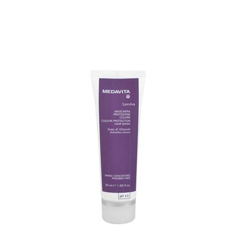 Medavita Lunghezze Luxviva Maschera protezione colore pH 3.5  50ml