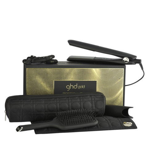 GHD New Gold Professional Styler Smooth Styling Gift Set - piastra kit regalo