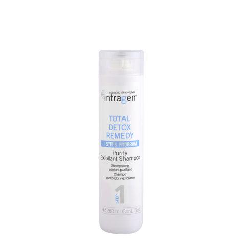 Intragen Total Detox Remedy Step 1 Purify Exfoliant Shampoo 250ml - shampoo esfoliante