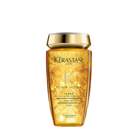 Kerastase Elixir Ultime Le Bain 250ml - Shampoo agli oli idratanti