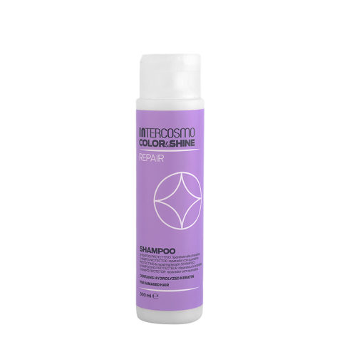 Intercosmo Color & Shine Repair Shampoo 300ml - shampoo protettivo riparatore alla cheratina