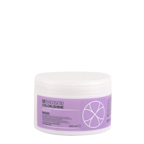Intercosmo Color & Shine Repair Mask 250ml - maschera protettiva riparatrice alla cheratina