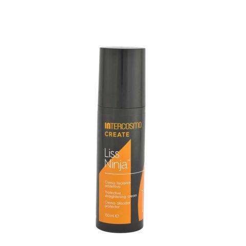 Intercosmo Create 1 Liss Ninja 150ml - crema lisciante protettiva