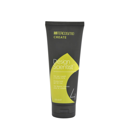 Intercosmo Create Design Scientist 200ml - gel a tenuta forte