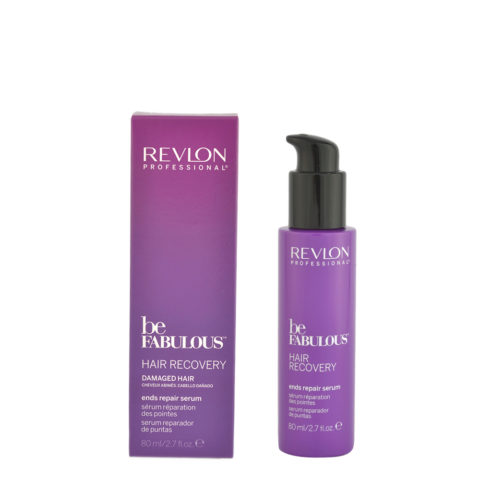 Revlon Be Fabulous Hair Recovery Ends Repair Serum 80ml - siero doppie punte