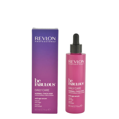 Revlon Be Fabulous Daily care Normal / thick hair Anti age serum 80ml - siero antietà capelli medio grossi