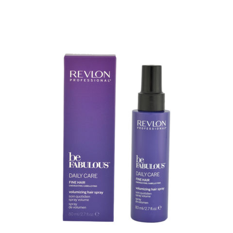 Revlon Be Fabulous Daily Care Fine hair Volumizing hair spray 80ml - spray volume capelli fini