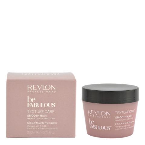 Revlon Be Fabulous Smooth hair Cream Anti-frizz Mask 200ml - maschera anticrespo capelli lisci