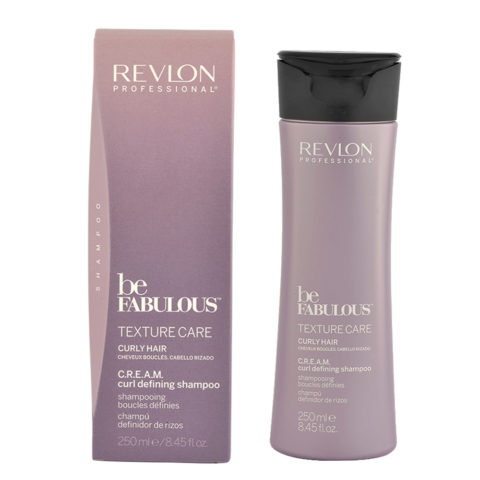 Revlon Be Fabulous Curly hair Cream Curl defining Shampoo 250ml - shampoo definizione capelli ricci