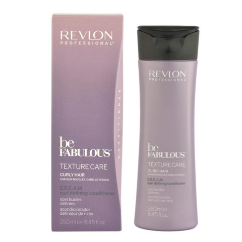 Revlon Be Fabulous Curly hair Cream Curl defining Conditioner 250ml - balsamo definizione capelli ricci