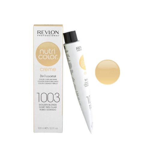 Revlon Nutri Color Creme 1003 Biondo chiarissimo dorato 100ml - maschera colore
