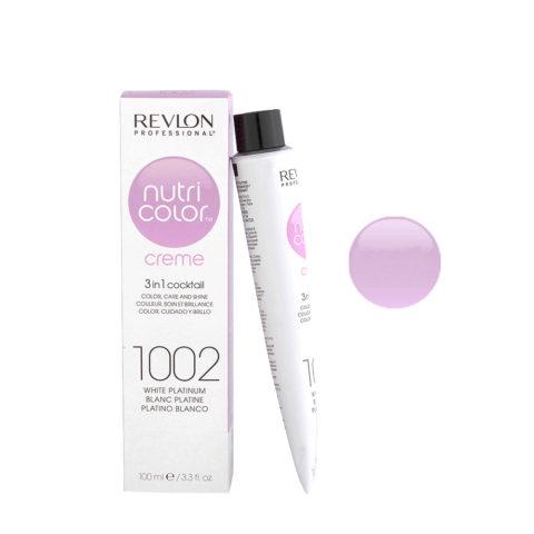 Revlon Nutri Color Creme 1002 Bianco platino 100ml - maschera colore