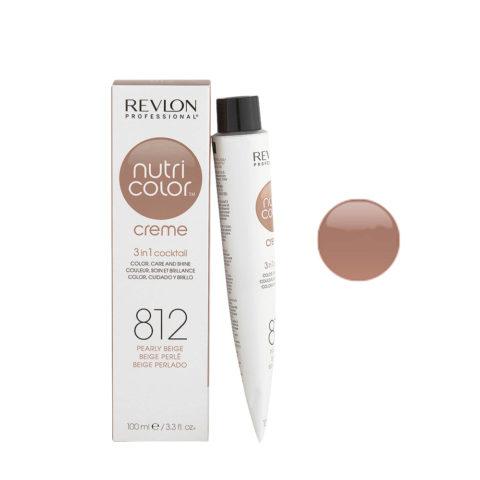 Revlon Nutri Color Creme 812 Beige perlato 100ml - maschera colore