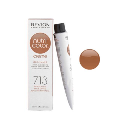 Revlon Nutri Color Creme 713 Beige ghiaccio 100ml - maschera colore