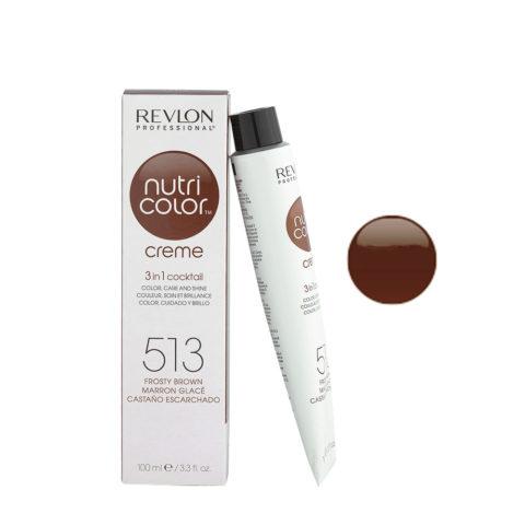 Revlon Nutri Color Creme 513 Castano ghiaccio 100ml - maschera colore