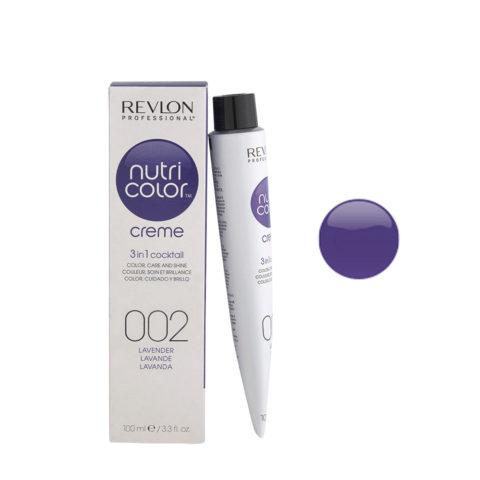 Revlon Nutri Color Creme 002 Lavanda 100ml - maschera colore