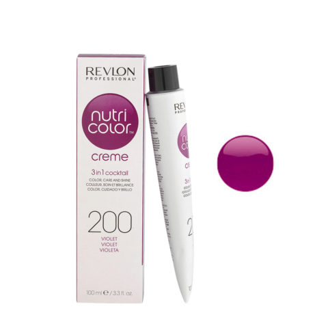 Revlon Nutri Color Creme 200 Viola 100ml - maschera colore