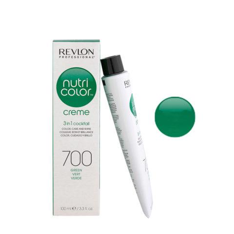 Revlon Nutri Color Creme 700 Verde 100ml - maschera colore