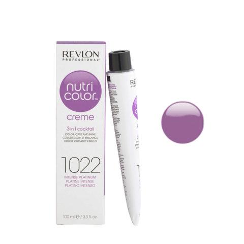 Revlon Nutri Color Creme 1022 Platino intenso 100ml - maschera colore