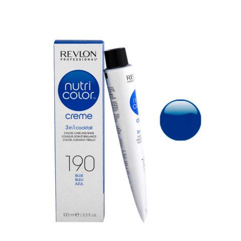 Revlon Nutri Color Creme 190 Blu 100ml - maschera colore