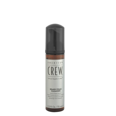 American Crew Beard Foam Cleanser 70ml - detergente per barba