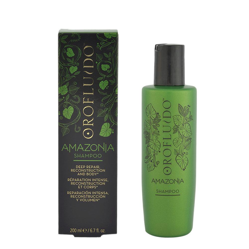Orofluido Amazonia Shampoo 200ml - shampoo riparatore
