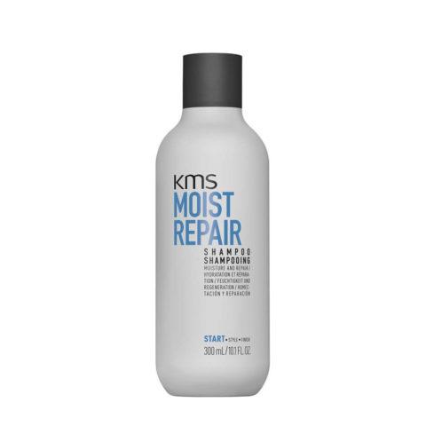 KMS Moist Repair Shampoo 300ml - Shampoo Ristrutturante capelli danneggiati