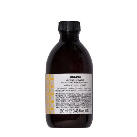 Davines Alchemic Shampoo Golden 280ml - shampoo riflessante per capelli biondi