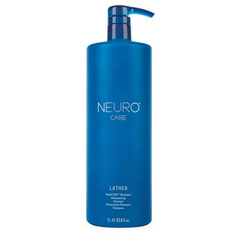 Paul Mitchell Neuro Care Lather HeatCTRL Shampoo 1000ml - shampoo protezione calore