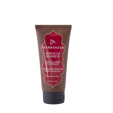 Marrakesh Miracle Masque Deep conditioning hair cocktail 118ml - maschera miracolosa
