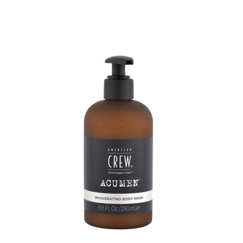 American Crew Acumen Invigorating Body Wash 290ml - Bagnoschiuma Rinvigorente
