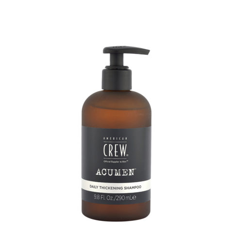American Crew Acumen Daily Thickening Shampoo 290ml - Capelli Fini