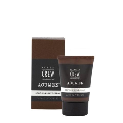 American Crew Acumen Soothing Shave Cream 100ml - Crema Da Barba Idratante
