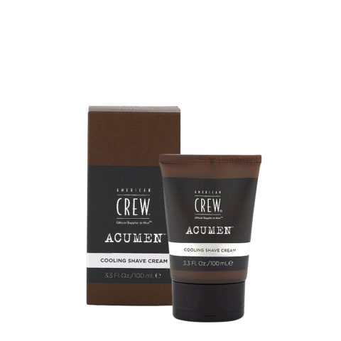 American Crew Acumen Cooling Shave Cream 100ml - Crema Da Barba Rinfrescante