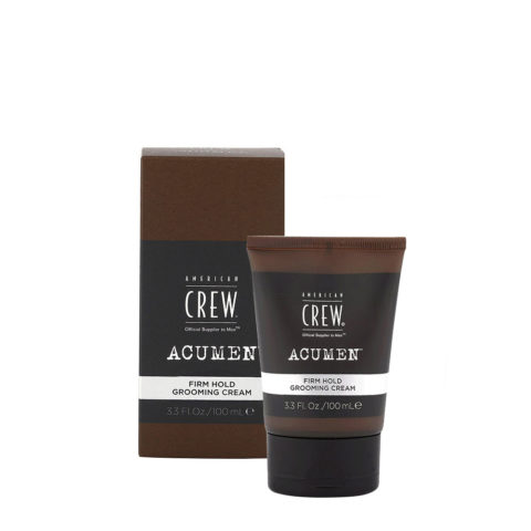 American Crew Acumen Firm Hold Grooming Cream 100ml - Crema Texturizzante
