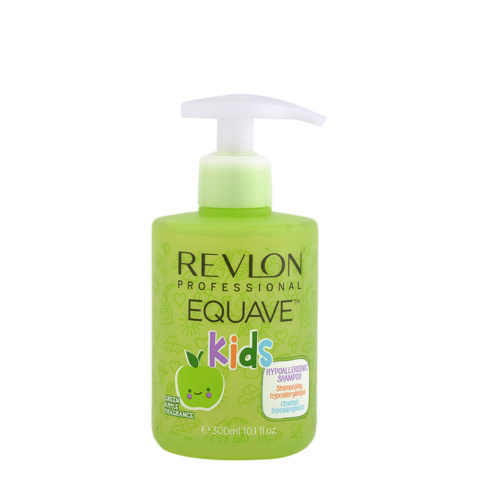 Revlon Equave Kids Hypoallergenic Shampoo Green Apple 300ml - shampoo bambini ipoallergenico