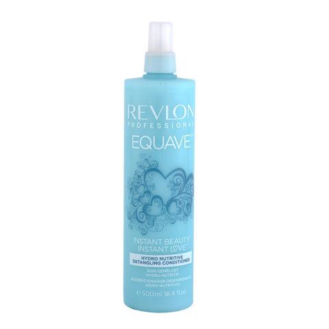 Revlon Equave Hydro nutritive Detangling conditioner 500ml - balsamo spray idratante