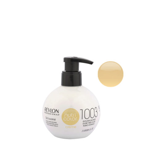Revlon Nutri Color Creme 1003 Biondo chiarissimo dorato 270ml - maschera colore