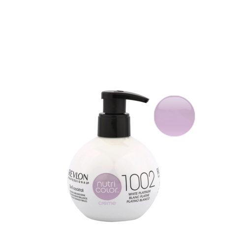 Revlon Nutri Color Creme 1002 Bianco platino 270ml - maschera colore