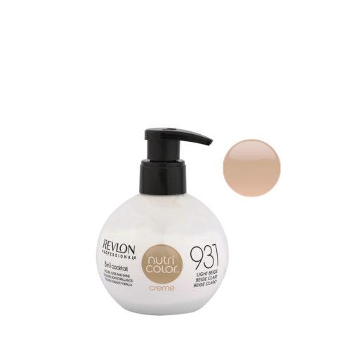 Revlon Nutri Color Creme 931 Beige chiaro 270ml - maschera colore
