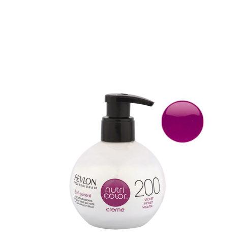 Revlon Nutri Color Creme 200 Viola 270ml - maschera colore