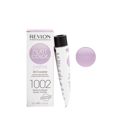 Revlon Nutri Color Creme 1002 Bianco platino 50ml - maschera colore