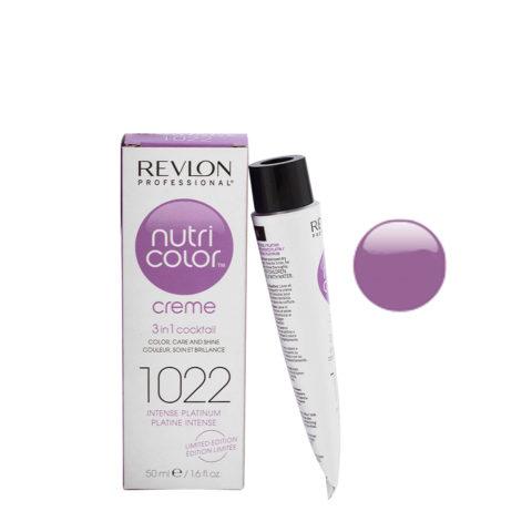Revlon Nutri Color Creme 1022 Platino intenso 50ml - maschera colore